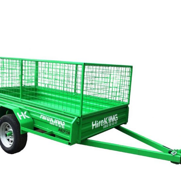 Quality Cage Trailer - Single Axle