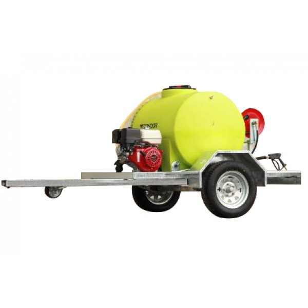 Water Blaster on Trailer