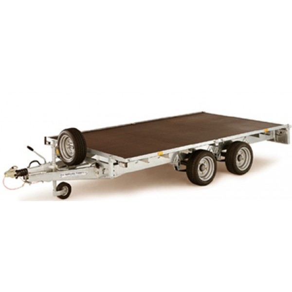 Flat Deck Trailer with Brakes